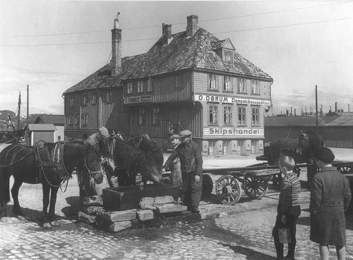historiske kart trondheim Tavern på Sverresb  Historiske bilder   Restaurant og  historiske kart trondheim
